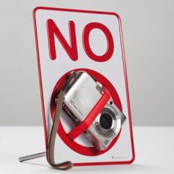 Placa Prohibido No Sign