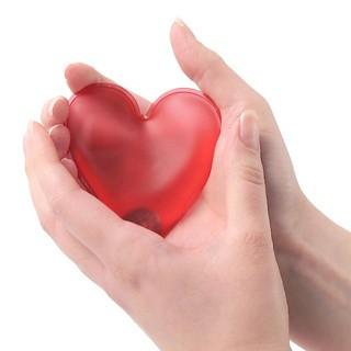 Calientamanos Corazón