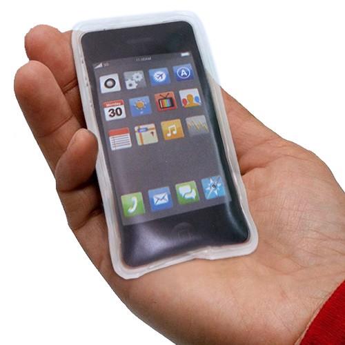 Calientamanos forma de iPhone Negro