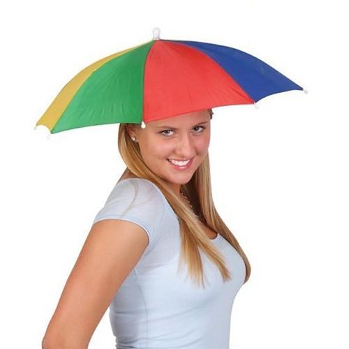 Paraguas-Sombrero Multicolor