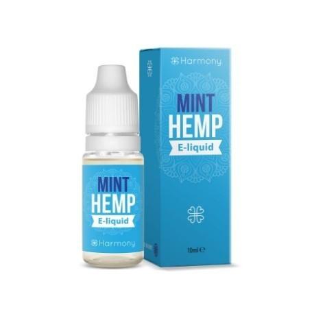 E-LÍQUIDO HARMONY CBD SABOR MINT HEMP 300mg 10ml Sin Nicotina