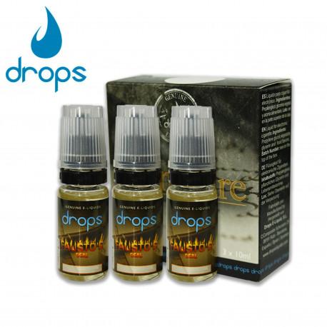 E-líquido DROPS FAUSTO'S DEAL 6mg/ml Tripack 3x10ml