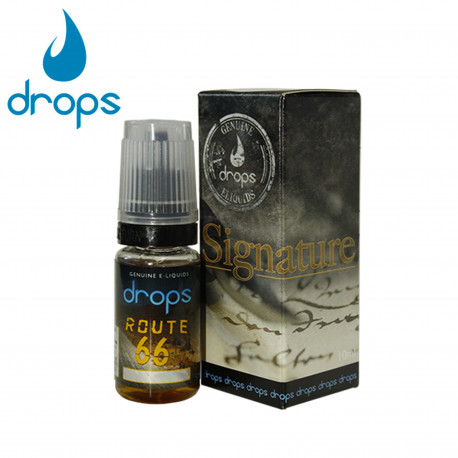 E-líquido DROPS ROUTE 66 12mg/ml 10ml