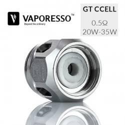 Resistencia Vaporesso GT CCELL 0.5 Ohm para NRG