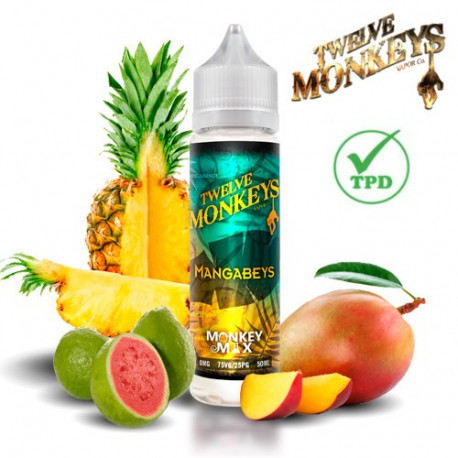 E-líquido Twelve Monkeys Mangabeys TPD 50ml Sin Nicotina