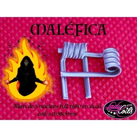 Lady Coils Maléfica 0.08 Ohms en Dual Coil