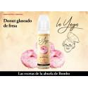 E-líquido LA YAYA (BOMBO) DONUT GLASEADO DE FRESA TPD 50ml 0mg