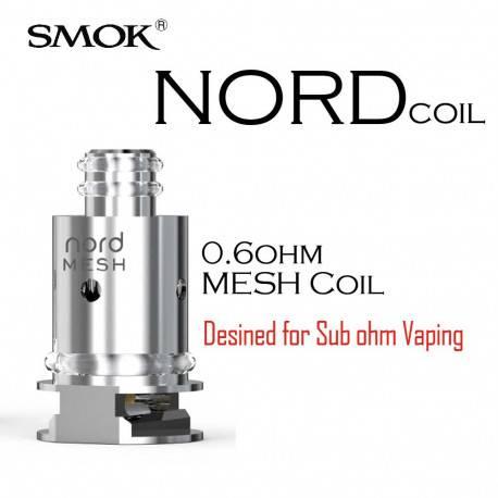Resistencia Smok Nord Mesh 0.6 Ohm