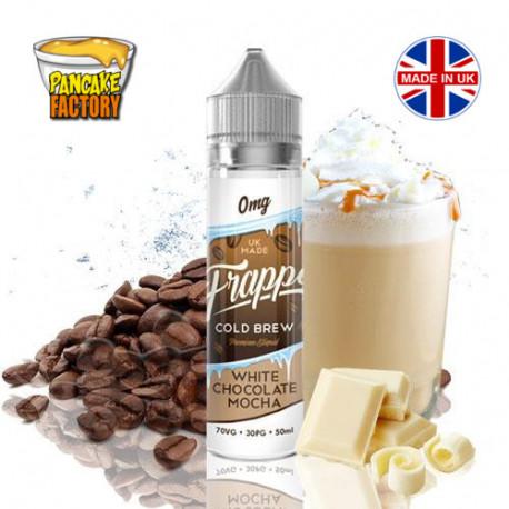 E-líquido Frappe Cold Brew White Chocolate Mocha TPD 50ml 0mg