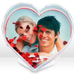 Portafotos Corazón para 1 Foto