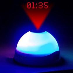 Despertador LED con Proyector