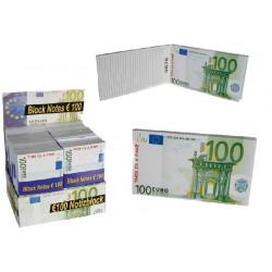 Bloc de Notas Grande 100 Euros