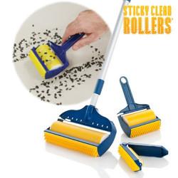 Rodillo Quita Pelusas Sticky Clean Rollers (3 piezas)