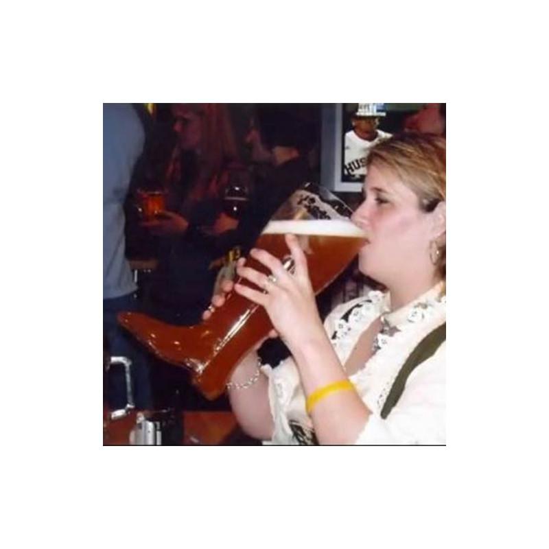 botas una cerveza