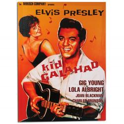 Cuadro Póster de Cine Elvis Presley Kid Galahad 50 x 70