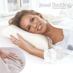 Almohada Viscoelástica Cervical Jewel Bedding