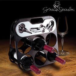 Botellero con Accesorios Vino Summum Sommelier