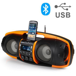 Super Radio MP3 Bluetooth AudioSonic RD1549