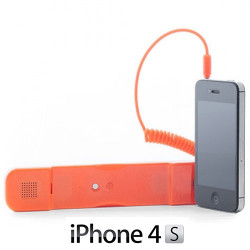 Auricular Antiradiación compatible con iPhone Negro