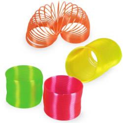 Espiral de Plástico Neón Verde