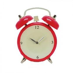 Reloj de Pared de Cristal Despertador Azul