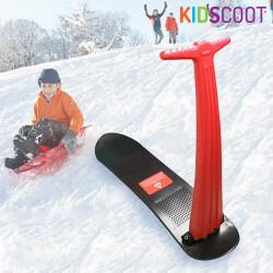 Patinete de Nieve KidScoot Snowboard Rojo