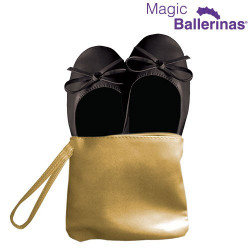 Zapatillas Bailarinas Manoletinas Magic Ballerinas Negro M