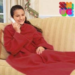 Batamanta Infantil Snug Snug Kids Extra Suave Rojo