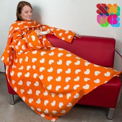 Batamanta Adultos Snug Snug Extra Suave Diseños Originales Lovely naranja