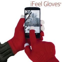 Guantes iFeel Gloves para Pantallas Táctiles Rojo