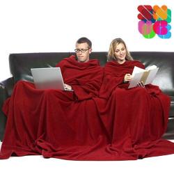 Batamanta Doble Adultos Snug Snug Big Twin Rojo