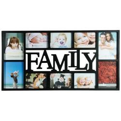 Portafotos Family (10 Fotos) Negro