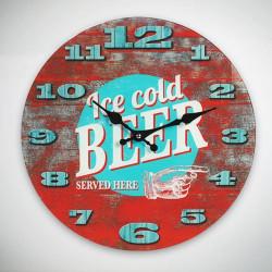 Reloj de Pared Ice Cold Beer