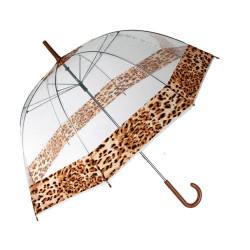 Paraguas Burbuja Leopardo