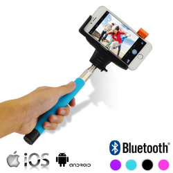 Monopié Bluetooth para Móviles Azul
