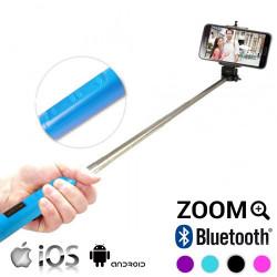 Monopié Bluetooth con Zoom para Selfies Negro