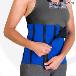 Faja Deportiva Zipper Slimmer Sauna Belt