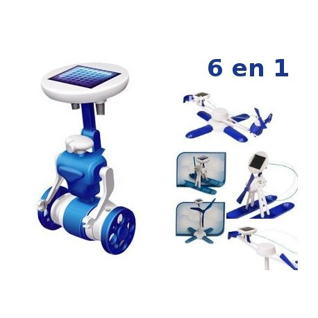 Robot Solar Educativo DIY 6 en 1