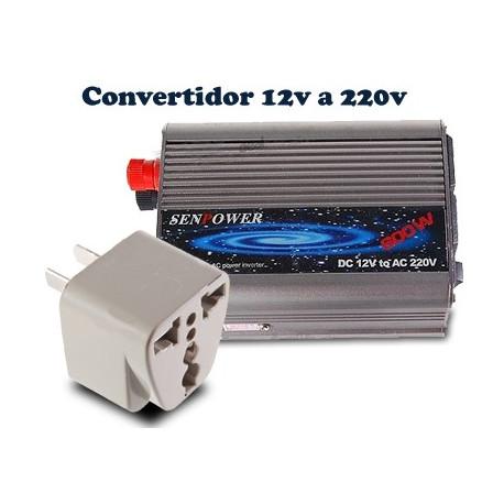 comprar convertidor de tensi n 12v a 220v 300w para