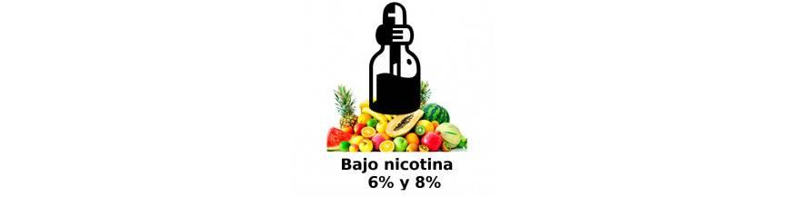 BAJO EN NICOTINA FRUTALES