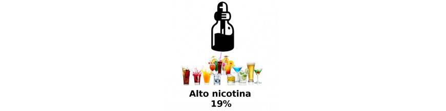ALTO NICOTINA BEBIDAS