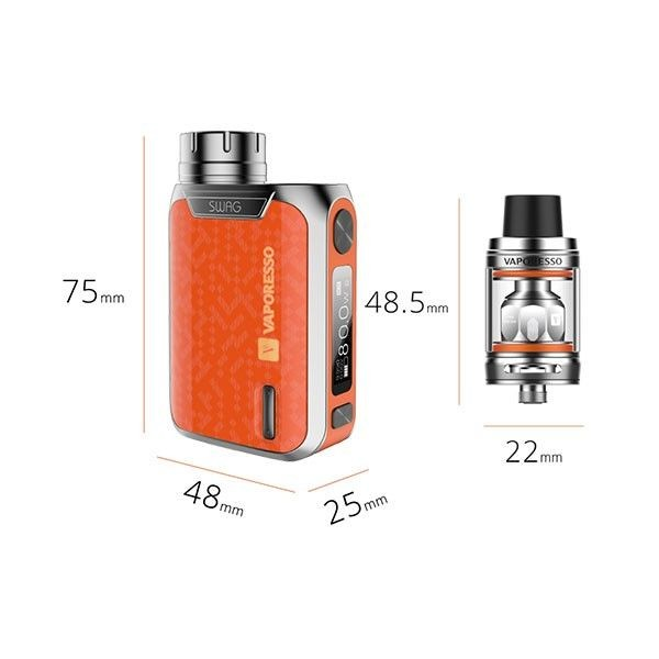 Vaporesso Swag 80W & NRG SE mini 2ml